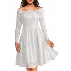 Vestido Médio Preto Madrinha de Casamento Tomara que Caia Manga Longa