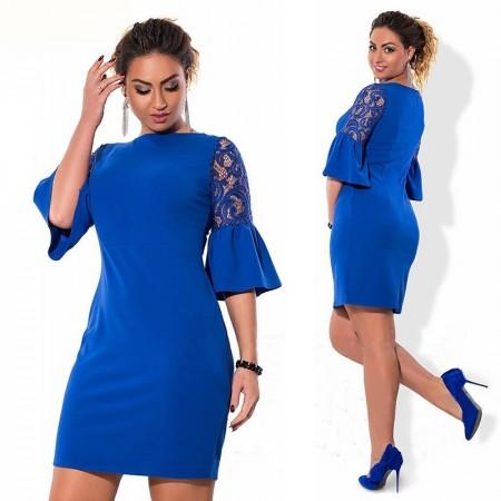 Vestido azul para festa de formatura