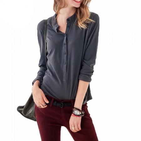 Women's Casual Button Down Shirt Fashion Casual Long Sleeve Casual