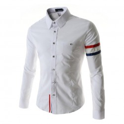 Shirt Casual Sports Long Sleeve
