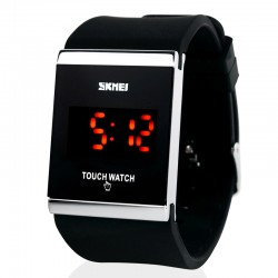 Large Digital Watches LED Waterproof Touch Screen LED Display