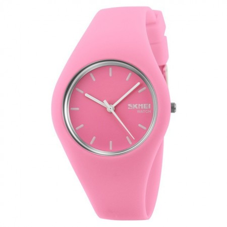 Women's Casual Silicone Watches Various Colors Quartz Accessory