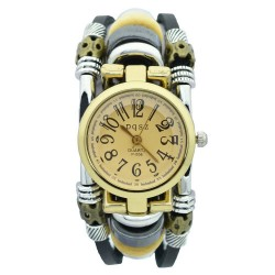 Women's Vintage Quartz Watch Fashionable Gypsy Bracelet