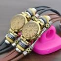 Women's Vintage Quartz Watch Fashionable Gypsy Bracelet
