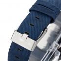 Relógios Pulseira Tecido em Jeans Quartoz Mostrador Redondo Unisex
