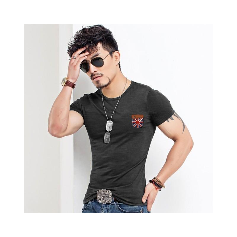 Camiseta Básica Infantil De Malha Cardada Tawanka Confecções e376ac445066a