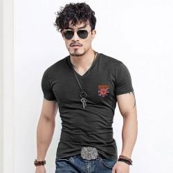 Men's Basic T-Shirt Lisa Cold Cotton Knit Various Colors