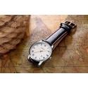 Relógios Masculino Preto Cerâmica Esporte Quartzo Pulseira de Couro