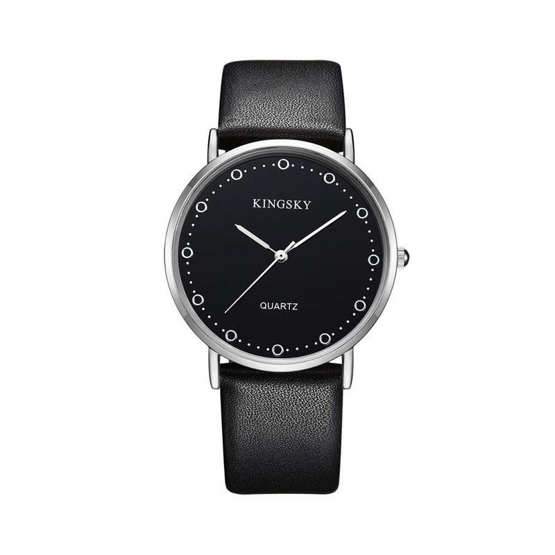 Relógios Feminino Elegante Pulseira de Couro Marrom Mostrador Branco.  Loading zoom 3855edcbae