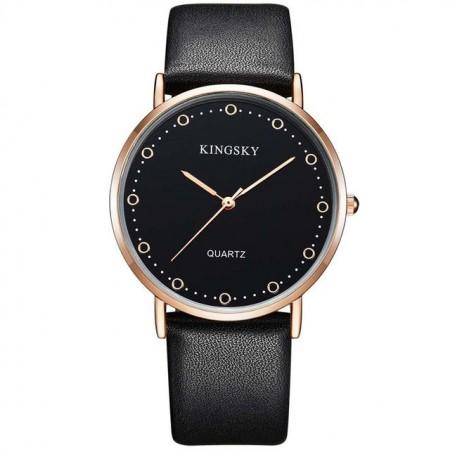 1890cdb9900 Relógio Bulova Dourado. Relógios Feminino Elegante Pulseira de Couro Marrom  Mostrador Branco Calitta