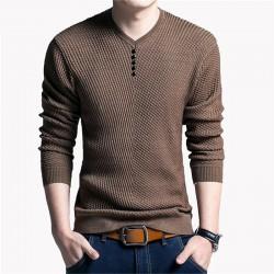 Men's Cold T-Shirt Cyclic Fashion Winter Pullover Sweatshirt