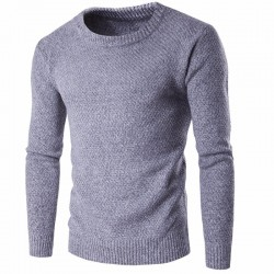 Cold Long Sleeve Men's Wool T-shirt Fashion Winter Thick