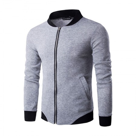 Casual Zip Jacket Men's Casual Stylish Winter Jacket