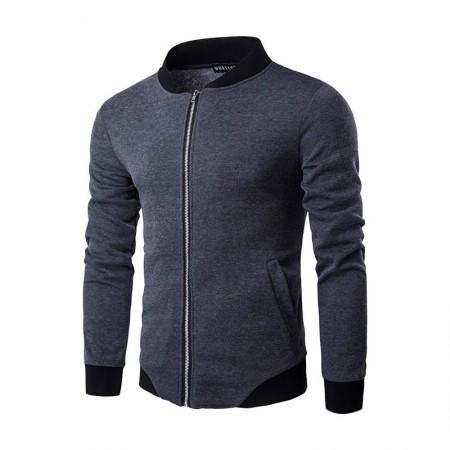 Casual Zip Jacket Men's Casual Stylish Winter Jacket