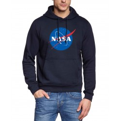 Moletom NASA com Capuz Moda Inverno Casual Masculino Calitta Brasil