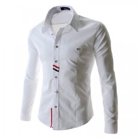 Camisa Casual Esportiva Manga Longa Elegante