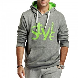 Men's Sports Training Sweatshirt Fitness Hooded Sweatshirt