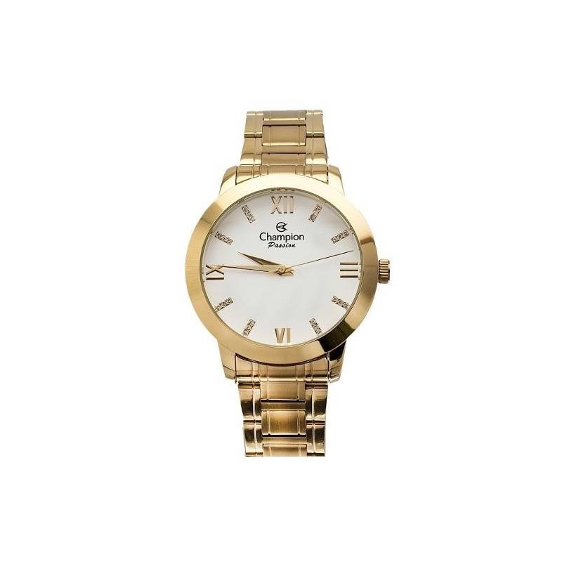 d5794d1be36 ... Relógio Feminino Champion Dourado Kit Brincos de Perolas