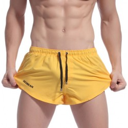 Men's Short Shorts Sexy Beach Shorts With Lining