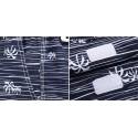 Men's Bermuda Striped Printed Fashion Beach Short