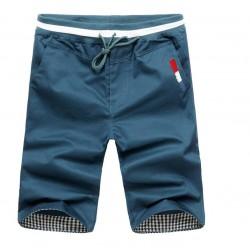 Bermuda Jeans Masculina Slim Colorida Casual Moda Praia Ajuste