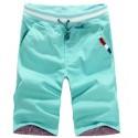 Bermuda Men's Casual Slim Colored Casual Beach Fashion Fit