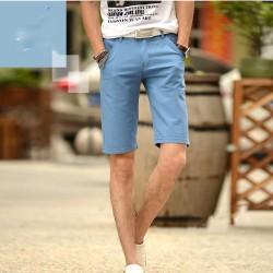 Bermuda Jeans para Homens Moda Casual Moda Urbana