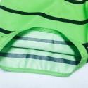 Men's Short Striped Fashion Style Beach Short Adjustable Fine Knit