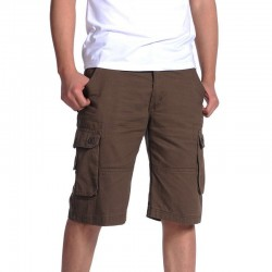 Men's Stylish Casual Bermuda with Big Summer Loose Pockets