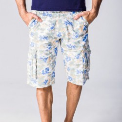 Bermuda Men Floral Casual New Summer Fashion Work with Handbags