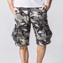 Men's Short Camouflage Various Summer Pockets