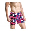 Short Casual Men's Short Print Camouflage Beachwear
