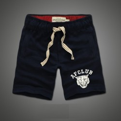 Short Curto Masculino Casual Academia Moletom Bordado