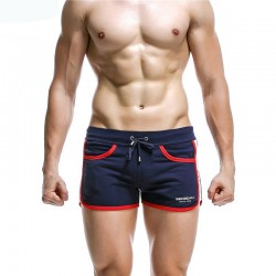 Short Short Male Striped Boxer Fashion Casual Sexy