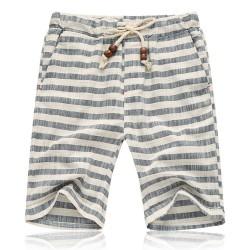 Short Masculino Casual Estampado Confortável Verão Praia