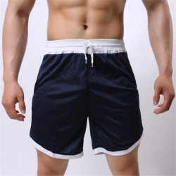 Short Casual Trainings Academy Fitiness Male Trend Fashion
