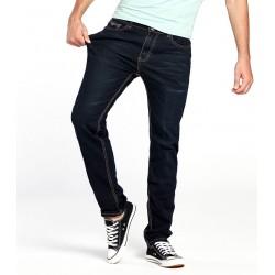 Calça Masculina Jeans Brim Azul Estilo Casual Moderna Exclusiva