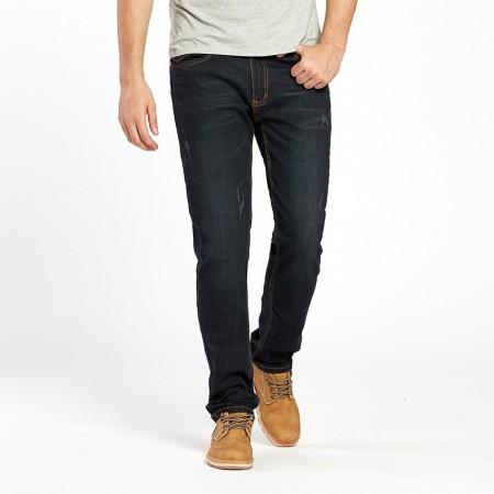 Men's Pants Navy Blue Details Modern Exclusive