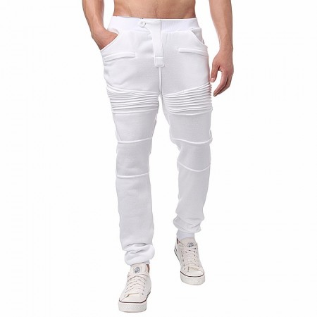 Men's Casual Pants Gray Training Academy with Handbags