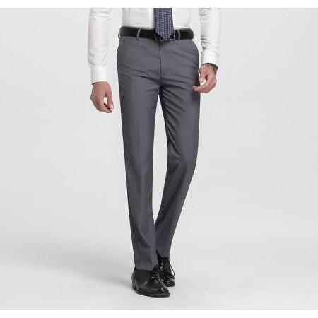 Calça Masculina Social Formal Padrão Moderna Lisa