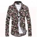 Men's Floral Shirt Avaian Style Summer Beach Print