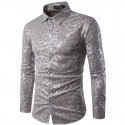 Gay Men's Shirt Animal Print Tigress Long Sleeve Ballad Luxury