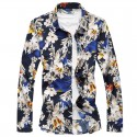 Men's Shirt Fashion Colorful Floral Style Beach Summer