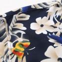Camisa Masculina Moda Estilo Floral Colorida Praia Verão