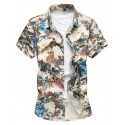 Florida Men's Fashion Shirt Avaiana Summer Beach