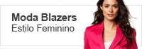 Moda Blazers Estilo Feminino Calitta