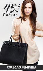 Coleção Bolsas Femininas Calitta