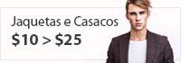 Comprar Jaquetas e Casacos Masculinas Calitta