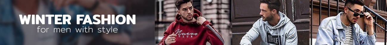 Fashion Winter Men's Sweatshirts & Coats Buy Online with Free Shipping Calitta