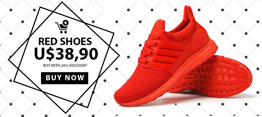 Red Tennis Air Buy online at Calitta